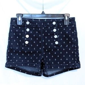 Almost Famous High Waisted Sailor Shorts